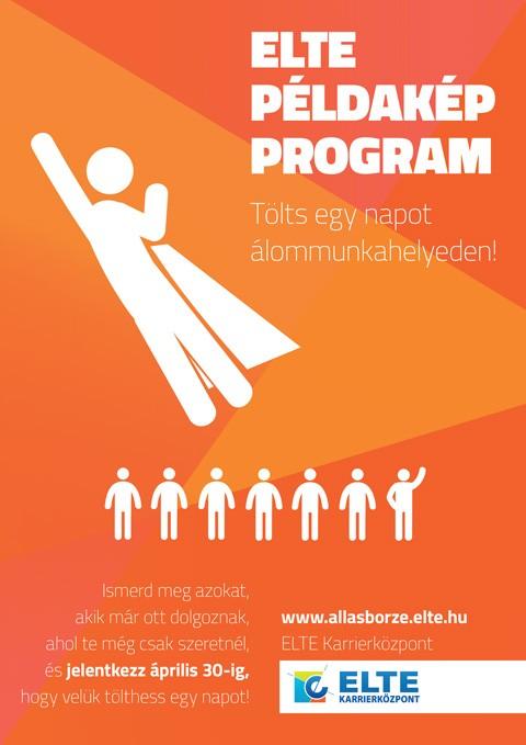 ELTE Példakép Program plakát-pályázat 2014 pályamunka