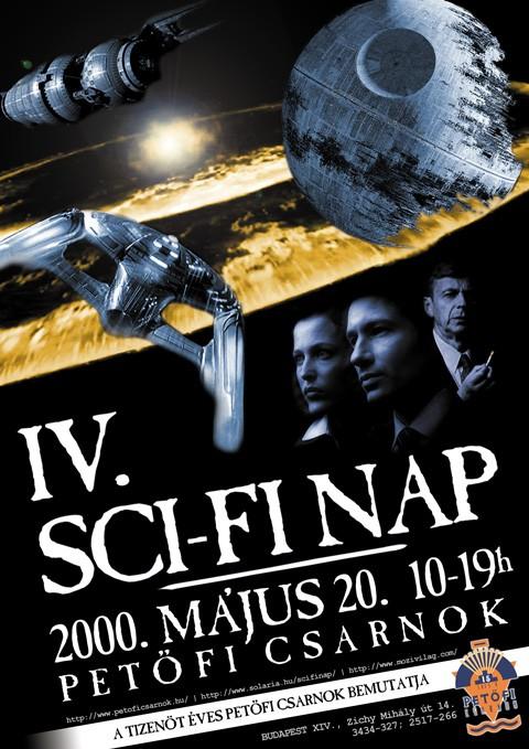 Sci-Fi Nap IV. plakát